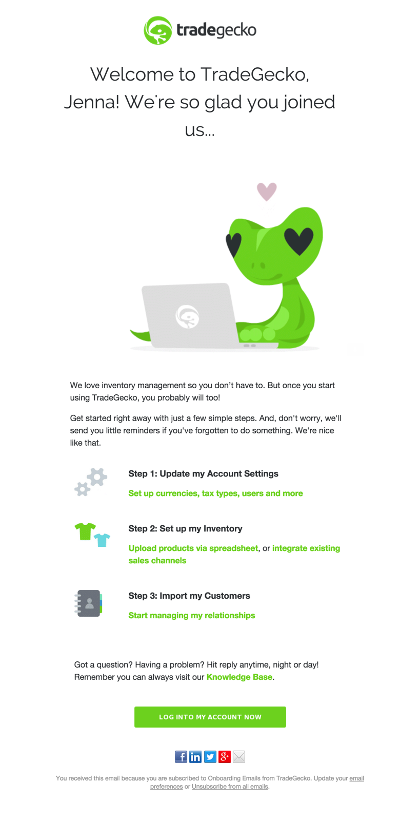 gecko-welcome-email