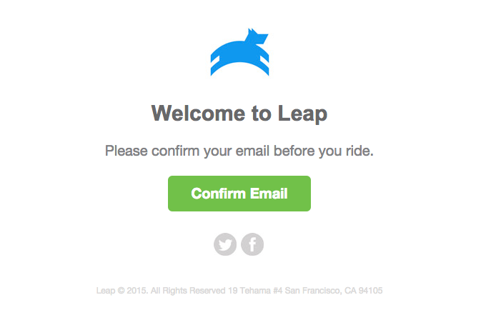 leap-welcome-email
