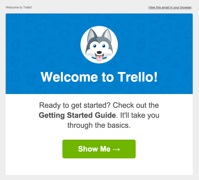 10 Beautifully Designed Welcome Emails For Your Inspiration