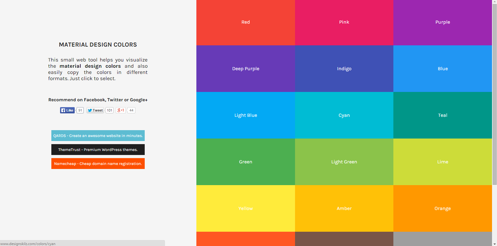 material-design-colors