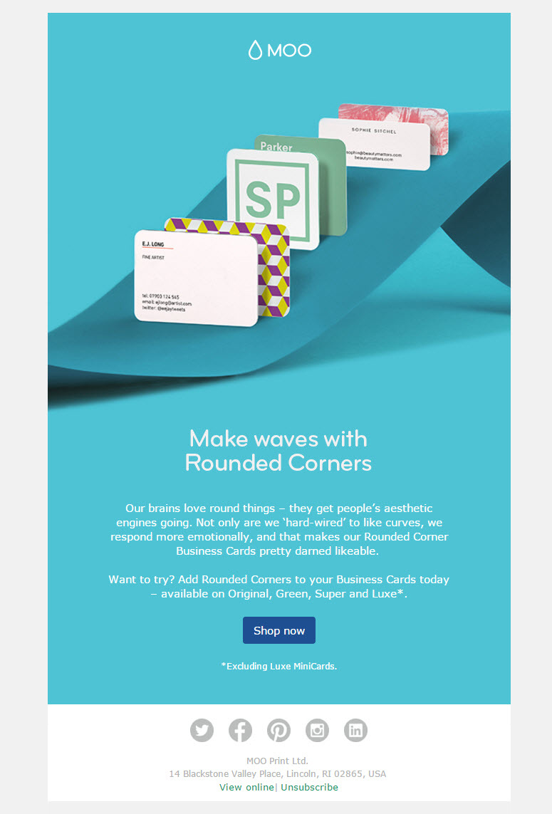 Beautiful Emails For Your Inspiration - Pretty email templates