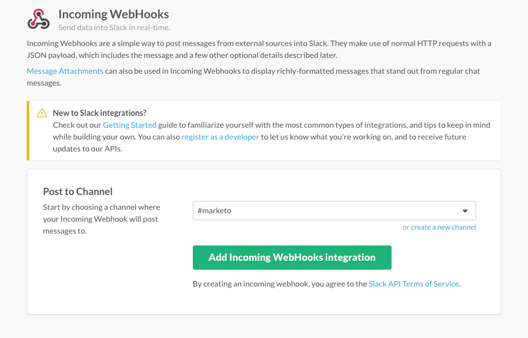 Integrating Marketo with Slack in 4 Easy Steps