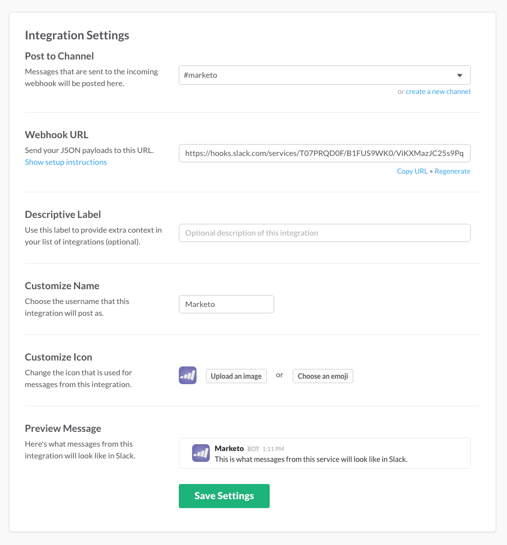 Integrating Marketo with Slack in 4 Easy Steps