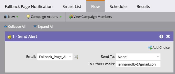 marketo-fallback-page-notification-flow