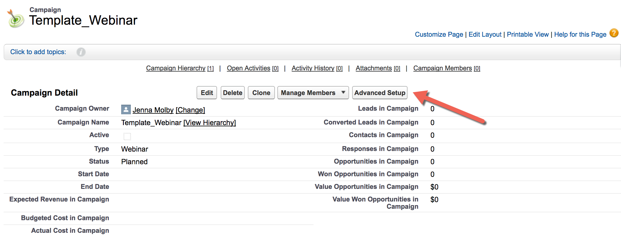 How to Track Pardot Campaign Influence in Salesforce