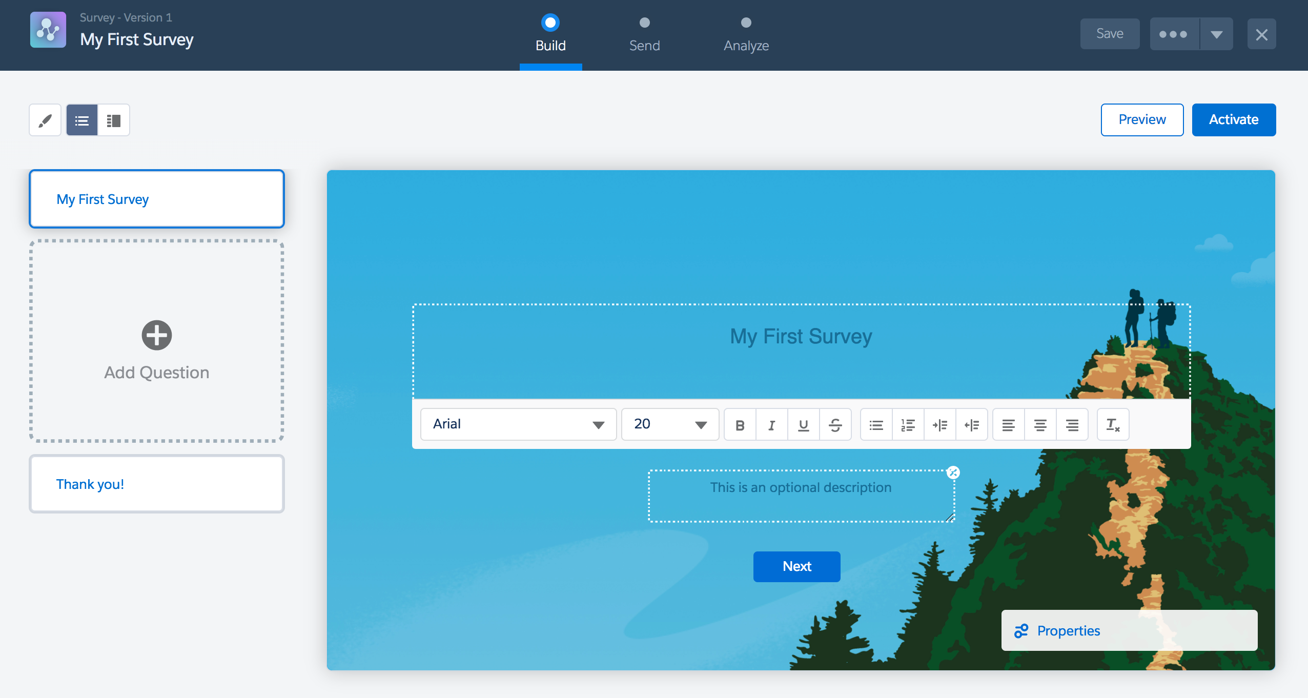 How To Create Your First Survey Using Salesforce Surveys