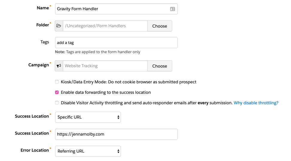 How to Integrate Gravity Forms with Pardot